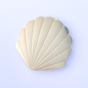 Sea Shell Scarf Brooch Clip